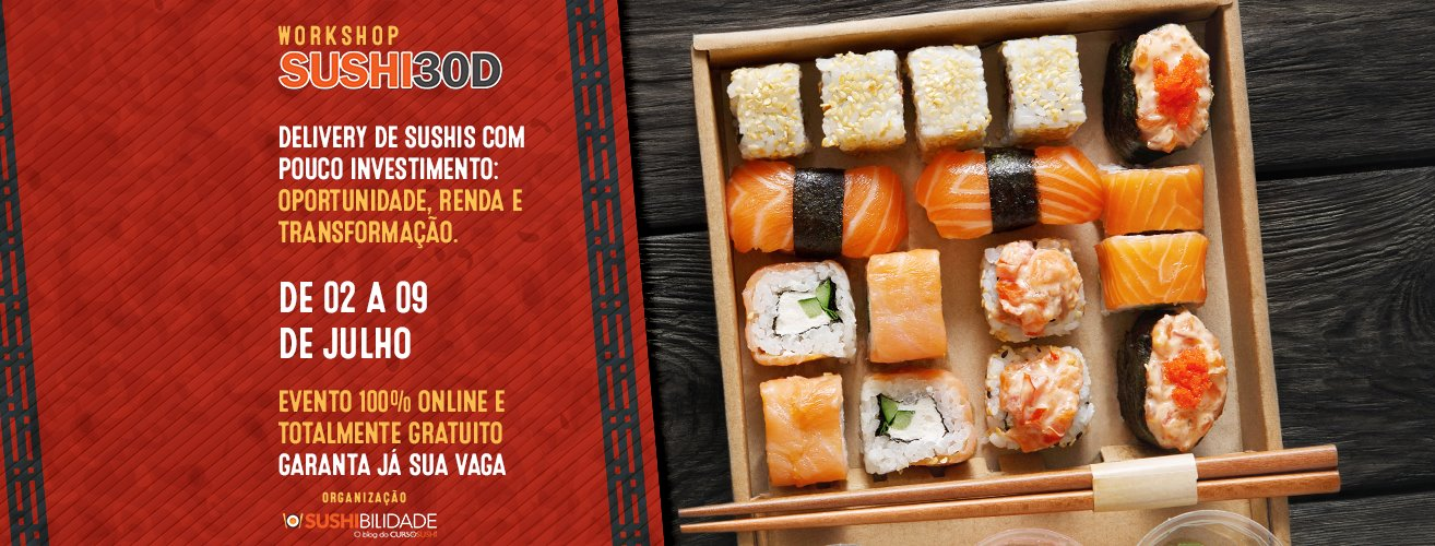 Workshop Sushi30D